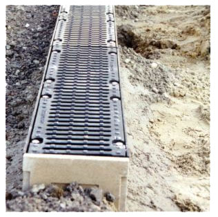 Afvoergoten-beton
