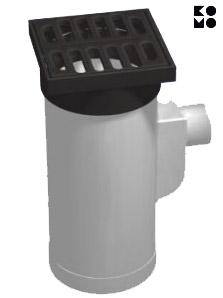 Straatkolken-PVC
